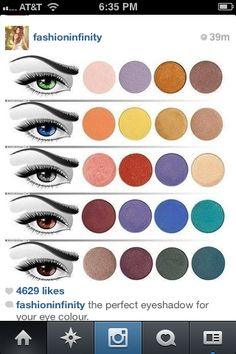 The perfect eyeshadow for your eyes