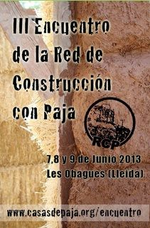 III ENCUENTRO DE LA RED DE CONSTRUCCIÓN CON PAJA