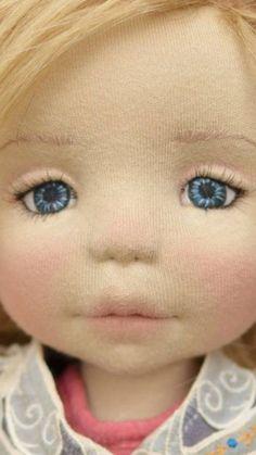 67 ideas sewing baby clothes tutorial fabrics for 2019 Crochet Baby Toys, Crochet Dolls, Sock Dolls, Baby Dolls, Doll Eyes, Sewing Dolls, Doll Tutorial, New Dolls, Waldorf Dolls