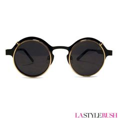 Spitfire Techno 4 Retro Sunglasses in Black - couldn't resist, have just purchased these! X