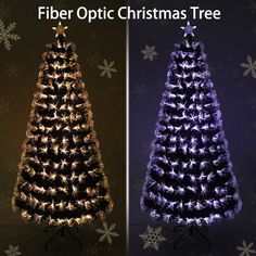 Name: Fiber Optic Christmas Tree Material:pvc/metal Leaves Light Christmas Wreaths, Christmas Bulbs, Merry Christmas, Fiber Optic Christmas Tree, Garland, Arts And Crafts, Leaves, Holiday Decor, Metal