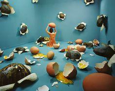 Broken Heart, 2011 JeeYoung Lee Pigment print  38 x 47 inch  Edition of 5 ex + 2 AP