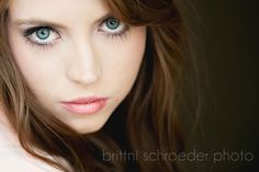 Okay, the whites of her eyes need retouching, but love the close crop and fade to dark on the side