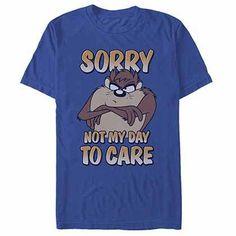 Kids Martian Man Looney Tunes Blue Long Sleeve T-Shirt I/'m Not Impressed Cartoon