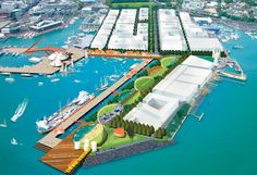 Auckland Waterfront Framework- Auckland,New Zealand- Taylor Cullity Lethlean (TCL)