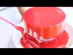 How to make Jewel Mirror Cake - YouTube