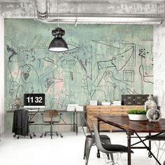 PICASSO GRAFFITI behangfabfriek