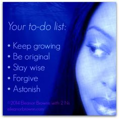 make your list