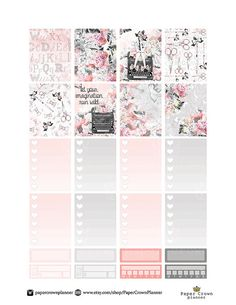 50% OFF SALE / FASHION Blogger Weekly Planner от PaperCrownPlanner