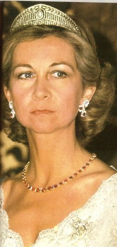 Royal Joyas del Consejo Mundial Mensaje: Reina Sofía de España de la joyería