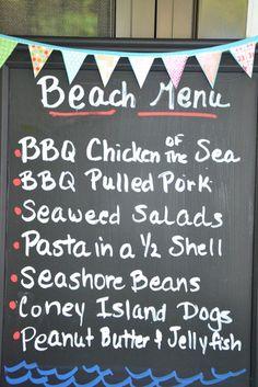 "Photo 10 of 70: The Beach / Birthday ""Backyard Beach Birthday Bash"" | Catch My Party"