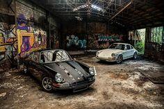 Porsche 911 SC 1982 Backdate & Porsche 911 2,4E Trappe à huile 1972