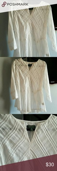 Women Shirt White, cotton shirt Ralph Lauren RRL Tops Tunics