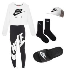 """Just do it"" by foreverde on Polyvore featuring NIKE"