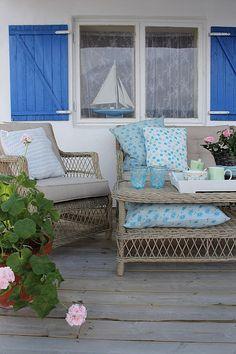 Beach house porch for the views