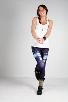 Tardis Print Leggings