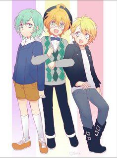 Ai, Natsuki & Syo