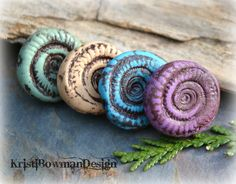 Kristi Bowman Design: New Colorful Beads #polymerclay