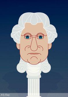 George Washington  February 22, 1732  Westmoreland County, Virginia.  Happy Birthday George !!!