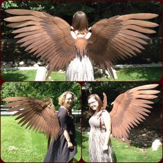 Maleficent Cosplay Wings by ThePinkPoudo.deviantart.com on @deviantART