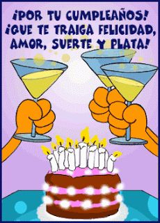 The perfect FelizCumple Celebrate Cheers Animated GIF for your conversation. Discover and Share the best GIFs on Tenor. Birthday Wishes Funny, Happy Birthday Messages, Happy Birthday Images, Birthday Quotes, Birthday Greetings, Birthday Cards, Happy Birthday In Spanish, Happy Birthday Posters, Snoopy Quotes