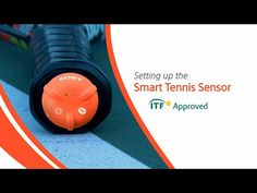 Sony Smart Tennis Racket Sensor | Wilson Tennis