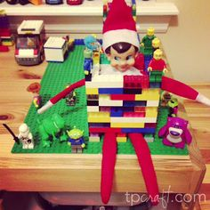 Elf on the Shelf Ideas – Lego Prisoner (Toy Story 3) I am doing this tonight!!!