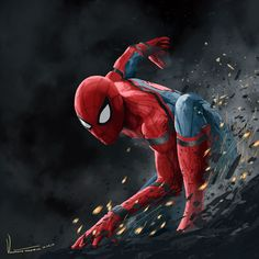 Spider-Man: Homecoming TESORONE'S ARTBLOG
