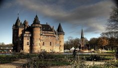Castle De Haar is located near Haarzuilens, in the province of Utrecht in the Netherlands. The interior of the castle is decorated with richly ornamented woodcarving, which reminds one of the interior of a Roman Catholic church.