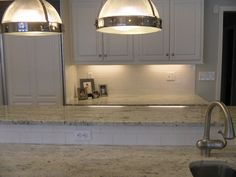 Galaxy White That We Loved (at Crowe Custom Countertops)