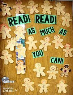 FREE Gingerbread man one sentence summary challenge