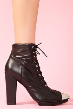 Nasty Gal x Jeffrey Campbell Ruby Roper Boot
