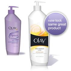 Olay ultra moisture with shea butter lotion