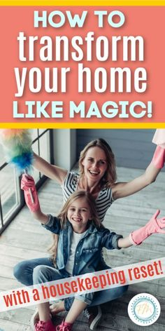 Sometimes life gets busy and the clutter starts to build up in our home. How can we change that? How can we transform our home? We change it with just a little magic of a housekeeping reset! Grab my FREE printable housekeeping re-set action plan. This will help you as you transform your home with a reset. #freeprintable #housekeeping #cleaning #housecleaning #howto #declutter Diy Home Cleaning, Cleaning Hacks, Cleaning Wipes, Home Organization Hacks, Organizing, Wipe Away, What Is Need, Happy Wife