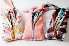 tuto pour trousse + plein de modèles de sacs à dos tutorial for pencil case and lots of rucksacks designs