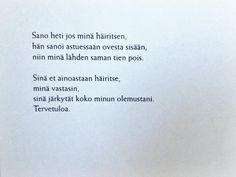 Eeva Kilpi runoja - mamselli   Lily.fi