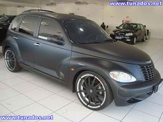 PT-Cruiser-tuning-rebaixado-600x450 I love the mat or satin color.