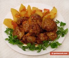 Meatballs | Children's Food | Genius cook - Healthy Nutrition, Tasty Food, Simple Recipes