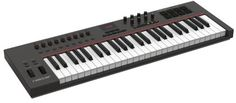 Nektar Impact LX49 USB MIDI Keyboard Controller: Get real DAW integration for a budget-controller price. The LX49 gives you 49 keys, 8 velocity-sensitive pads, controls pre-mapped to Bitwig Studio and more.