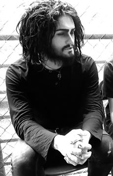 """Devin """"Ghost"""" Sola- Motionless In White #goth - #long hair man"""