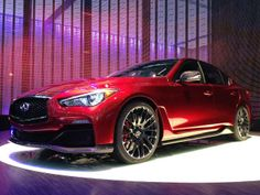 The top 30 cars of the 2014 Geneva Motor Show: Infiniti Q50 Eau Rouge (© Motoring Research)