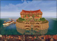 【Minecraft】 アパート / ないさ さんのイラスト - ニコニコ静画 (イラスト)