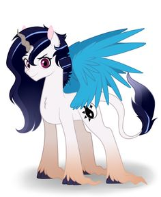Name: Harmony Nicknames:Mony (Only by Chaotic) Parents: Celestia and Discord General Bio: Harmony is the second child of Princess Celestia and Discord, unlike her brother, she doesn't take her duti...