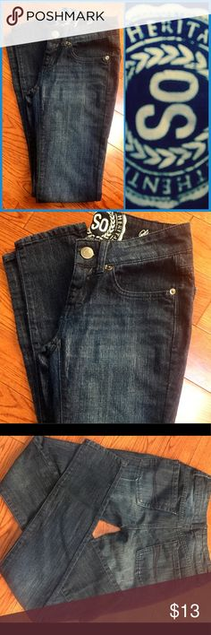 """NWOT SO Skinny Jeans NWOT SO Skinny Jeans ▪️New without tags. Daughter never wore. No signs of damage. Please refer to pics. ▪️Size: 1 US; Inseam approx. 28.5"""" ▪️Material: 78% Cotton/21% Polyester/1% Spandex ▪️Made: China SO Jeans Skinny"""