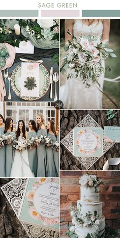 6 Beautiful Greenery Wedding Color Combos in Green Shades for 2019 The biggest wedding color trends . 6 Beautiful Greenery Wedding Color Combos in Green Shades for 2019 The biggest wedding color trends . Blush Wedding Colors, Spring Wedding Colors, Blush Color, Blush Pink Weddings, Wedding Color Combinations, Wedding Color Schemes, Color Combos, Wedding Bouquets, Wedding Flowers