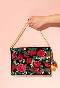 Borro Design Handmade Purse Embroidery Purse, Handmade Flowers, Shoulder Bag, Purses, Bags, Women, Handbags, Handbags, Shoulder Bags