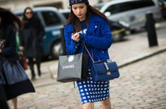 On the Streets of London Fashion Week Fall 2014 - London Street Style