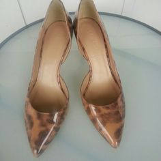 I just added this to my closet on Poshmark: J Crew Valentina Leopard d o'orsay Pumps Size 6. Price: $65 Size: 6