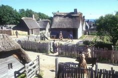 Plymouth Plantation ~ Welcome to the 17th century!  I loved this place, even though it made me nerdy