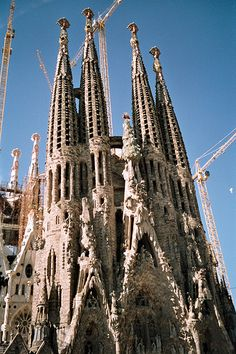 The Sagrada di Familia...just took my breath away when I reached the final climb out ot the train station. What an experience and priviledge to have seen such a creation.